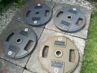 Hammer Strength Olympic commercial weights 100 kg