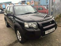 LAND ROVER FREE LANDER 2.0 TD4 SE AUTOMATIC 2003 PART LEATHER SEATS DIESEL AUTOMATIC FACE LIFT