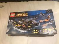 BNIB Lego DC Comics Super Heroes 76034 The Batboat Harbour Pursuit Retired 2015