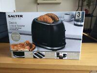 A Salter Deco 2 Slice Toaster