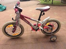 Girls cube 160 bike