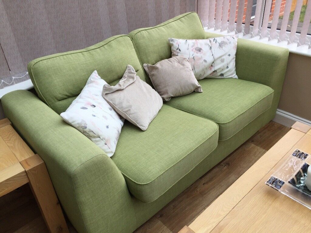 Incredible Two Seater Sofa Lime Green Excellent Condition In Waterlooville Hampshire Gumtree Bralicious Painted Fabric Chair Ideas Braliciousco