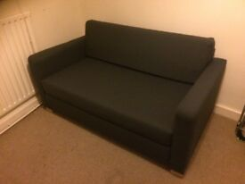 As-New Ullvi Ikea Sofa Bed, dismountable, easily transported, comfy firm