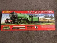 Hornby Flying Scotsman Train Set New unopened