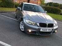 *BMW 318D M SPORT GREY GOOD SPEC LOW MILES 22K! FULL MOT 2 KEYS FULL HISTORY CRUISE CONTROL 520 320*