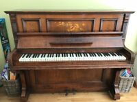 Beginners upright piano