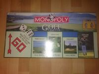 *New* Rare Golf Monopoly (Sealed)