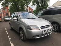 2008 CHEVROLET KALOS 1.2 SE. SPARES OR REPAIRS. EXPORT. BREAKERS. TIMING BELT SNAPED.