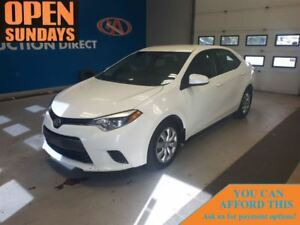 2015 Toyota Corolla LE BACK UP CAMERA! FINANCE NOW!