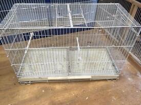 Wire breeding cage