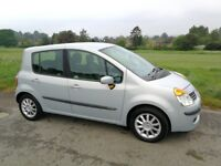 2005 Renault Modus Dynamique 1390CC 16 valve Petrol 5DR Manual Only 65,000 miles NEW CAMBELT/TYRES