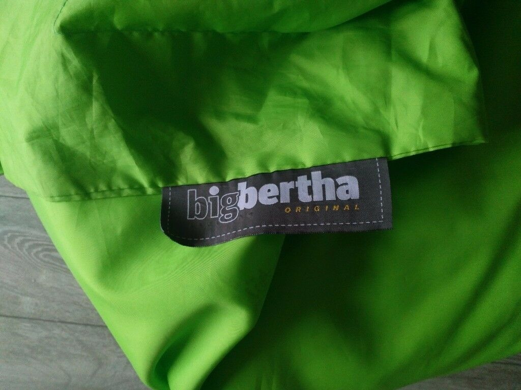 Big Bertha Giant Green Bean Bag