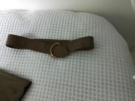 Woman's leather waistcoat