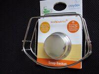 Croydex stick n lock plus soap basket. Brand new in packaging