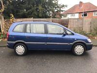 Vauxhall zafira 2003 7 seater