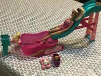 Barbie dog pool