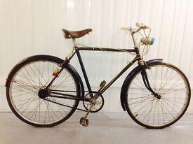 Gents Vintage city bike Brooks saddle Hub gears