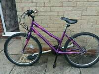 "Ladies Purple 26"" Apollo Mountain Bike"