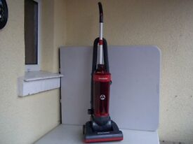 Hoover Whirlwind small upright bagless vacuum, thoroughly cleaned & working