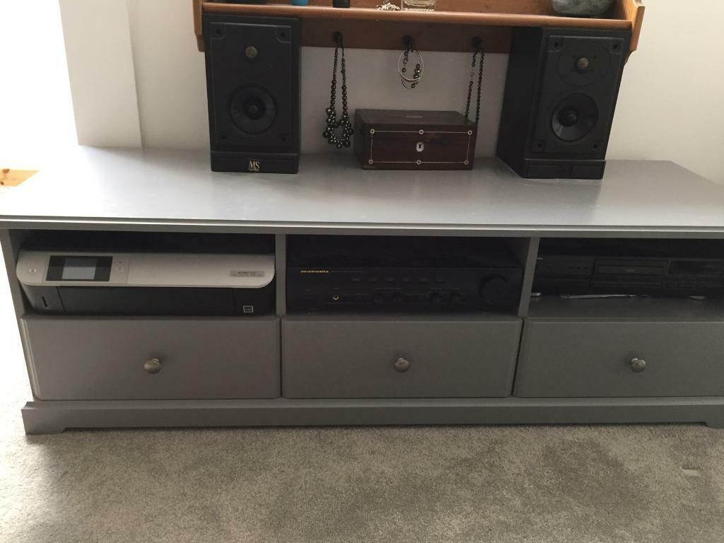 Ikea Liatorp Grey Tv Unit In Colinton Edinburgh Gumtree