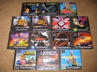 Playstation 1 Playstation one PS1 Games