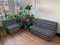 Double and Single Ikea LYCKSELE Sofa beds RRP£419