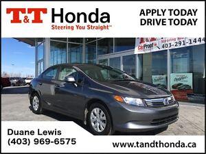 2012 Honda Civic LX *One Owner, Keyless Entry, MP3