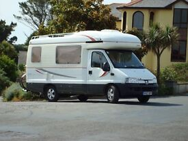 AutosleeperTalisman monocoque built, many extras,no pets or smokers, immaculate, upholstery as new.