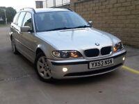 **CHEAP 2003 BMW 3 SERIES 320d E46 TOURING £1695** TURBO DIESEL 525d 530d C220 520d CDI 330d m sport