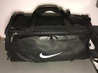 Medium Black Nike duffel bag