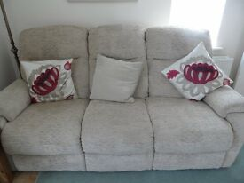 Suite - 3 Seater Setee + 2 Seater Setee + Foot / Storage Stool less than 18 months old