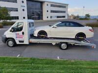 24hr UK Breakdown Car Recovery/Small Van Transport Service.Fully Insured