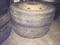 Tyres for lorry