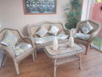 Excellent condition conservatory set