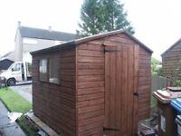 New Garden sheds