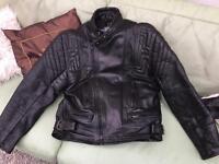 "Retro AKITO motorbike jacket 46"""