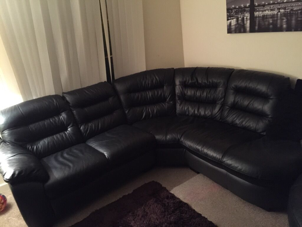 Dfs Leather Corner Sofa In Birmingham West Midlands Gumtree