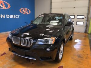 2014 BMW X3 xDrive28i AWD/ NAVI/ PANO SUNROOF!