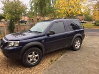 Land Rover Freelander TD4 3 dr manual 2ltr diesel