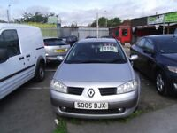 LOW MILEAGE RENAULT MEGANE 1.6 £495