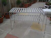 Aluminium Greenhouse Potting Table