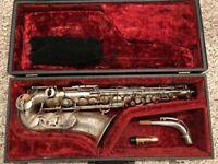 Selmer Paris Balanced Action [BA] pro alto saxophone serial #30xxx circa 1942