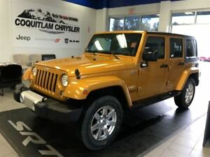 2014 Jeep Wrangler Unlimited Sahara Loaded Power Alloy Bluetooth