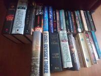 Job lot books fantasy/horror/thriller