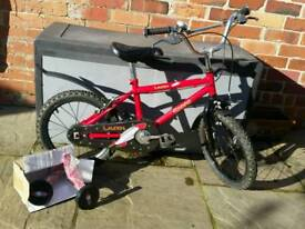 """Boys first bike 12"""" wheels and brand new (boxed) stabilisers"""