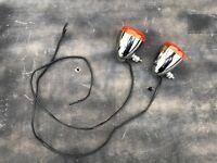 Harley Davidson chrome Indicator pair