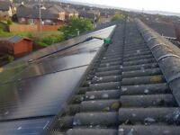 Solar servicing