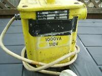 110 volt transformer single outlet
