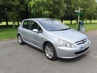 Peugeot 307 Quicksilver edition 1.6 2005 Petrol silver (Very Low Mileage)