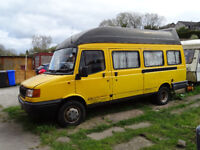 LDV Convoy school bus converted to motorhome Ford transit Banana engine failed MOT